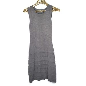 Calvin Klein Midi Tiered Sleeveless Sweater Dress
